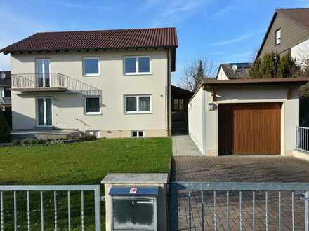 Modernisiertes, teilmöbliertes Haus mit großem Garten und 6 Zimmern in Meitingen