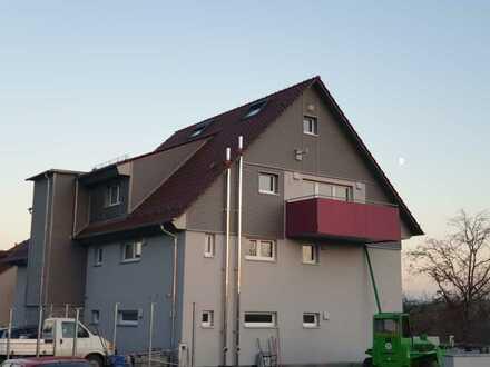 Erstbezug mit Balkon: freundliche 3,5-Zimmer-Wohnung in Zaisenhausen, KFW 40