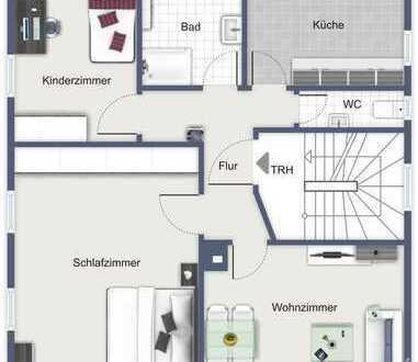 Modernisierte Wohnung in 5-Fam. Haus in ruhiger aber zentrumsnaher Lage