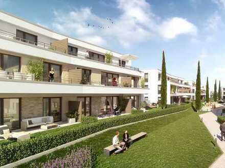 Wohnen am See! Attraktive 2-Zimmer-Wohnung auf ca. 52m² mit Terrasse und Garten!
