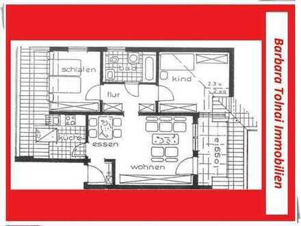 Traumhafte 3-Zimmer-Whg. im 3.OG mit Balkon (70 qm) + TG-Stellplatz in Großbottwar