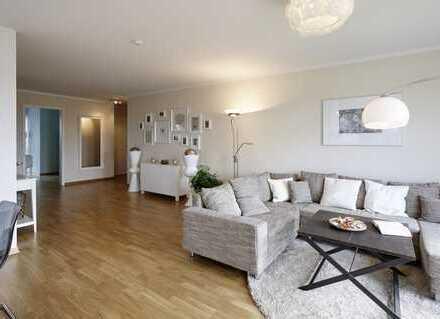 Stilvolle Eigentumswohnung: Hochwertige Ausstattung, große Terrasse und eigener Garten