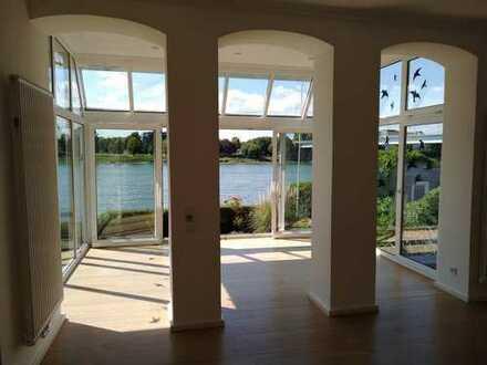Top sanierte 3 Zimmer Wohnung mit eigenem Garten in erster Rheinuferlage