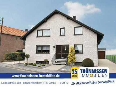Gut aufgeteilte 3 Zimmer Erdgeschosswhg. mit Terrasse + Gartenanteil und Garage