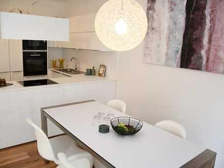 Direkt am Main // Ihre 2-Zimmer-Wohnung mit moderner Einbauküche und Terrasse