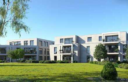 5-Zimmer Penthouse in Neubau (2.OG) mit Balkon, Kamin, Klimaanlage und TG in bester Lage (W9)