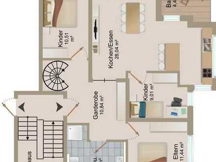Penthouse-Wohnung mit 5,5 Zimmern