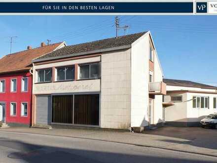 Wohn- und Geschäftshaus - ehemalige Gaststätte mit Saalbau und Metzgerei