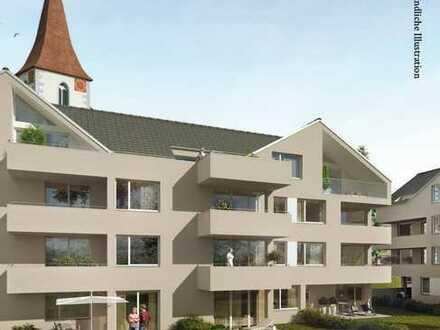 2 Zimmer Wohnung 1.OG mit Balkon, KfW 55 Effizienzhaus