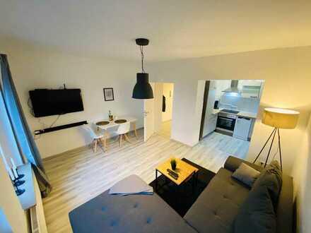 *City Apartment* 2 Zimmer-Wohnung Möbliert inkl. W-Lan & TV
