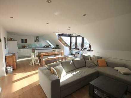 Fairmieten - In begehrter Lage: Traumhafte 4-Zimmer Wohnung mit Dachterrasse in der Weststadt