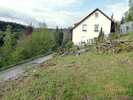 ** Naturnah leben** Bauplatz in Südhanglage für ein Einfamilienhaus