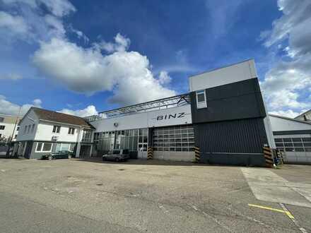 Hallen für Produktion und Lager, aufteilbar