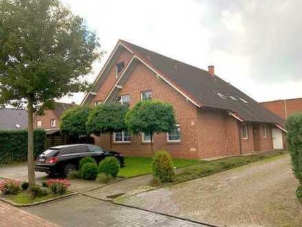 attraktive 4 ZKB EG-Wohnung mit Terrasse, großen Garten und Garage