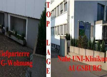"""1a TOPLAGE bei UNI-Klinikum, 4 Zi - 89qm """"WG-Wohnung"""", Einkaufsmöglichkeiten Bus/Bahn zu Fuß!"""