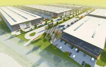 PROVISIONSFREI! NEUBAU/ERSTBEZUG! Lager-/Logistikflächen (9.500 qm) & Büro (630 qm) zu vermieten