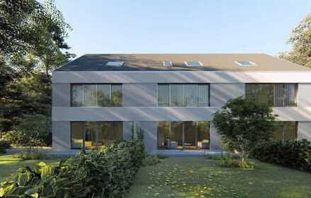 Neubau eines exklusives Reiheneckhauses mit 470 m² Grund in exponierter Bestlage von Neusäß-Westheim