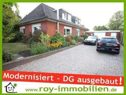 +++ Modernisierter Bungalow, DG ausgebaut, Wintergarten, 2 Kaminöfen, Außenpool inkl. !+++