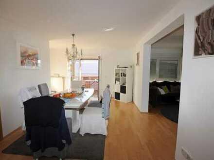 Vermietete 4,5-Zimmer Maisonette Wohnung mit beeindruckender Aussicht über Ludwigshafen Mitte