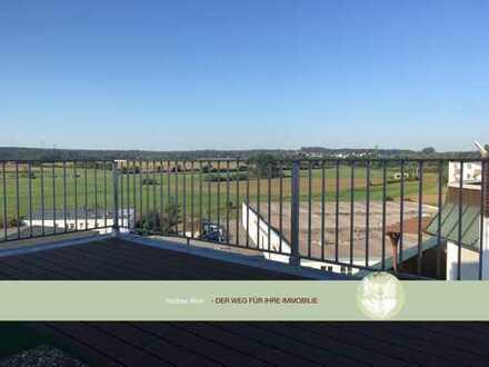 Penthouse für Individualisten: Wohnen und Arbeiten für 2 unter 1 Dach mit Gewerbegebietatmosphäre