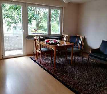 Attraktive 1-Zimmer-Erdgeschosswohnung/Gartenseite mit Balkon und Einbauküche in Karlsruhe-Rüppurr