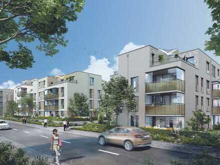 Wunderschöne 3-Zi.-Wohnung auf ca. 103 m² mit 2 Bädern und 2 Balkonen in lebenswerter Umgebung