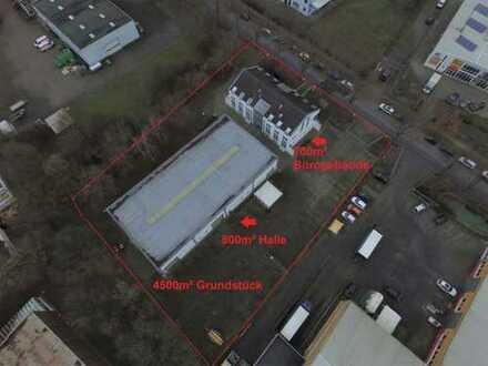 Top Lage Oyten Excl. Bürogebäude 700m² + Halle 800m² + 4500m² Grundstück
