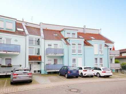 Achtung Kapitalanleger: Schicke 3-Zimmer-Wohnung mit Balkon und Tiefgarage in Menzingen