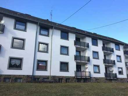 Modernisierte 3Zi.- Erdgeschoß Whg. mit Balkon