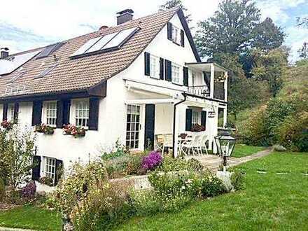 Kleinod-schön gelegene Doppelhaushälfte in Wangen-Ortsteil Haslach zu verkaufen