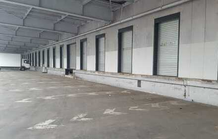 Ab 3,50 €/m², provisionsfrei, 300 m² - 2.670 m² Lagerhalle, Rampenandienung