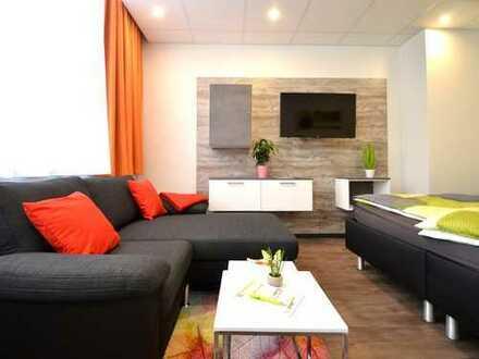 Zentral und möbliert - 1-Zimmer-Apartment in Offenbach - Erstbezug!
