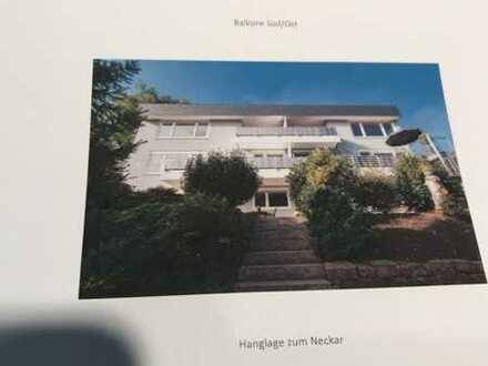 Etagenwohnung in Architektenhaus von besonderem Charme in Eberbach/Heidelberg