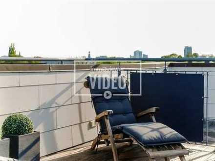 Penthouse-Exklusives Penthouse mit Balkon und Dachterrasse