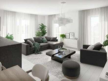 Barrierefreie, sonnige 4-Zimmer-Neubauwohnung mit Terrasse