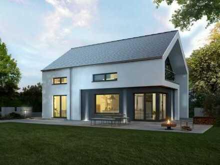 WOHLFÜHLHAUS Exclusives Einfamilienhaus Design 13,