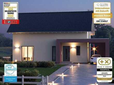 Bauen Sie Ihr Traumhaus im Grünen mit dem Ausbauhausmarktführer