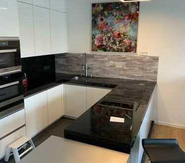 Exklusive Premium Wohnung (möbliert) mit Blick auf Main