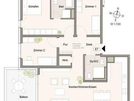 Moderne 4,5-Zimmer-Wohnung Opilio - Das neue Architektur-Highlight in Markgröningen !!