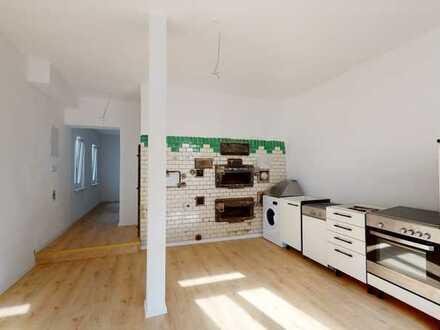 Erstbezug nach Sanierung: exklusive 2-Zimmer-EG-Wohnung mit Einbauküche