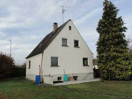 Gundelfingen, Wohnhaus mit großem Grundstück