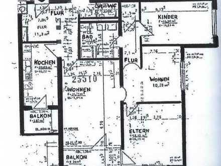 Gepflegte 4-Zimmer Wohnung mit Einbauküche