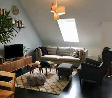 Ansprechende 3-Zimmer-Maisonette-Wohnung mit Balkon und Einbauküche in Ochsenhausen