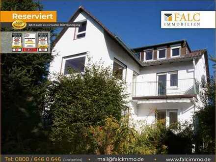 Direkt in Gießen! Sehr ruhig gelegenes Einfamilienhaus mit großem Grundstück und herrlichem Ausblick