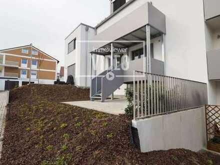 Erstbezug * 3-Zimmer-Wohnung mit Balkon & kleinem Garten