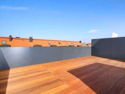 Lichtdurchflutet. Dachterrassen-Wohnung für höchste Ansprüche.