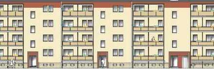 Erstbezug nach Sanierung, schöne 4-Raum-WE mit Balkon