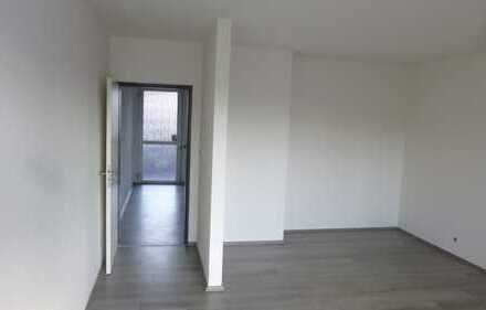 Erdgeschoss! 1,5-Raumwohnung mit Sonnenbalkon in Citynähe:::