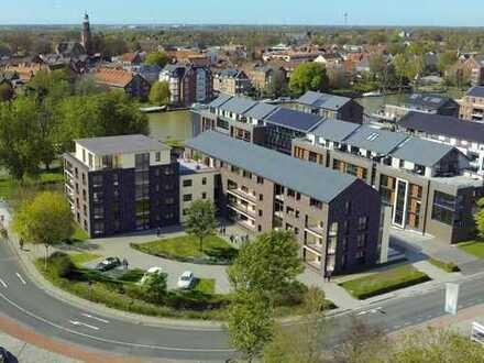 Leer: Neubau-Erdgeschoss-Büro-/Praxisfläche in Top Lage, Nähe Altstadt und Hafen, www.deWeerdt.de