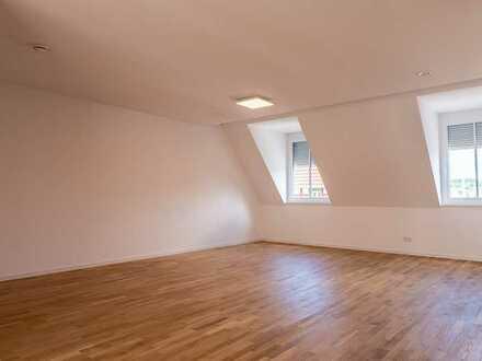 Neubau-Maisonettewohnung mit Ausblick